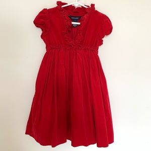 Ralph Lauren - Toddler/Girl red corduroy dress